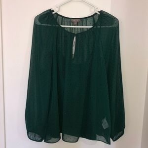 NWT J Crew Point Sur sheer blouse